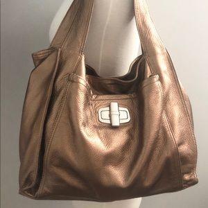 B. MAKOWSKY Seoul Shopper Genuine Leather Tote Bag